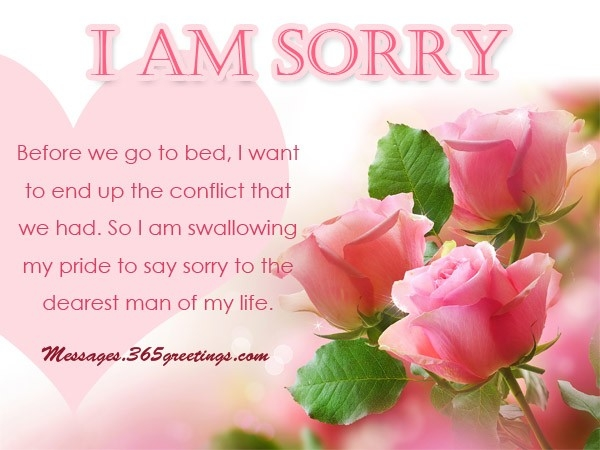 Sorry Messages For Husband - 365Greetings intended for I Am Sorry Quotes For Hurting You In Hindi 28481