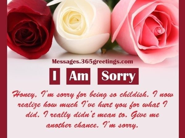 Sorry Messages For Husband – 365Greetings Pertaining To I Am