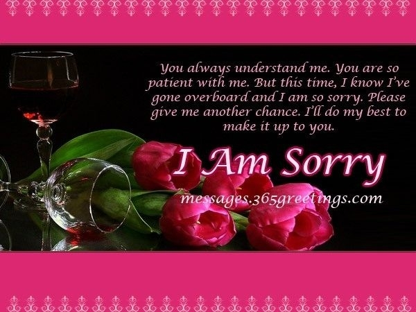Sorry Messages For Husband – 365Greetings Throughout I Am Sorry inside I Am Sorry Quotes For Hurting You In Hindi 28481