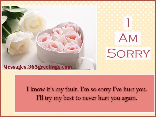 Sorry Messages For Husband - 365Greetings within I Am Sorry Quotes For Husband 28554