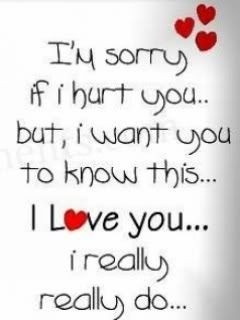 Sorry Please Forgive Me :( | Mots Pour La Pluie Et Le Soleil intended for I Am Sorry And I Love You Quotes 28451