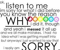 Sorry Quotes For Him Pictures, Photos, Images, And Pics For with regard to I Am Sorry Quotes For Hurting You Friend 28461