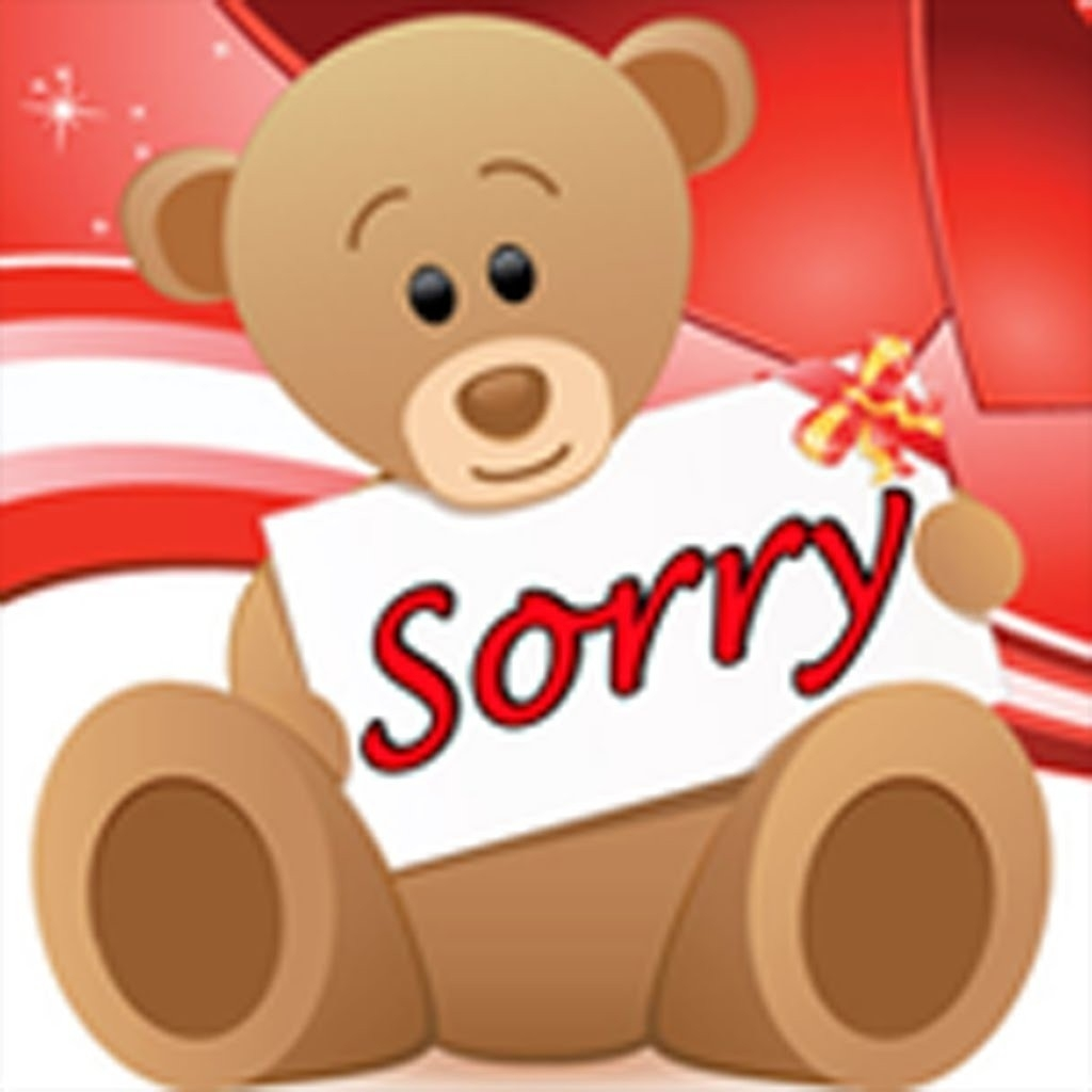Sorry Sticker Cute | World Of Example for Sorry Sticker Cute 28534