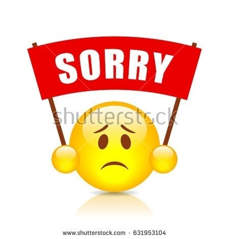 Sorry Stock Images, Royalty-Free Images & Vectors | Shutterstock intended for Sorry Stickers For Lovers 27390