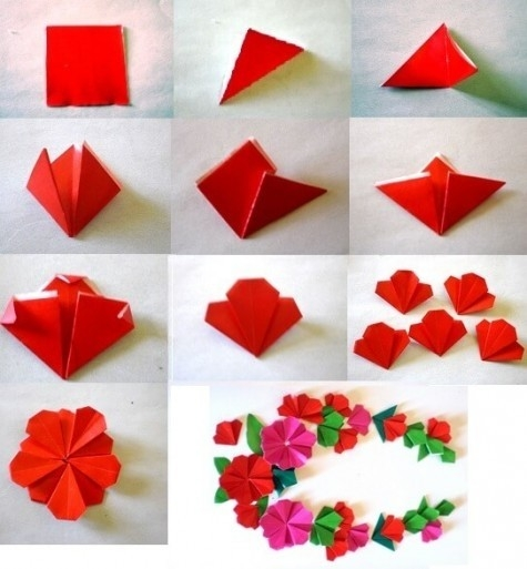 Step By Step Paper Craft Ideas | Find Craft Ideas pertaining to Art And Craft Work With Paper Step By Step