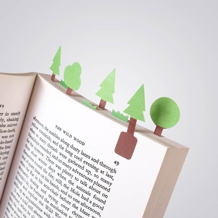 Sticky Page Markers – Some Adorable And Creative Bookmarks To with Creative Bookmarks For Books 29753