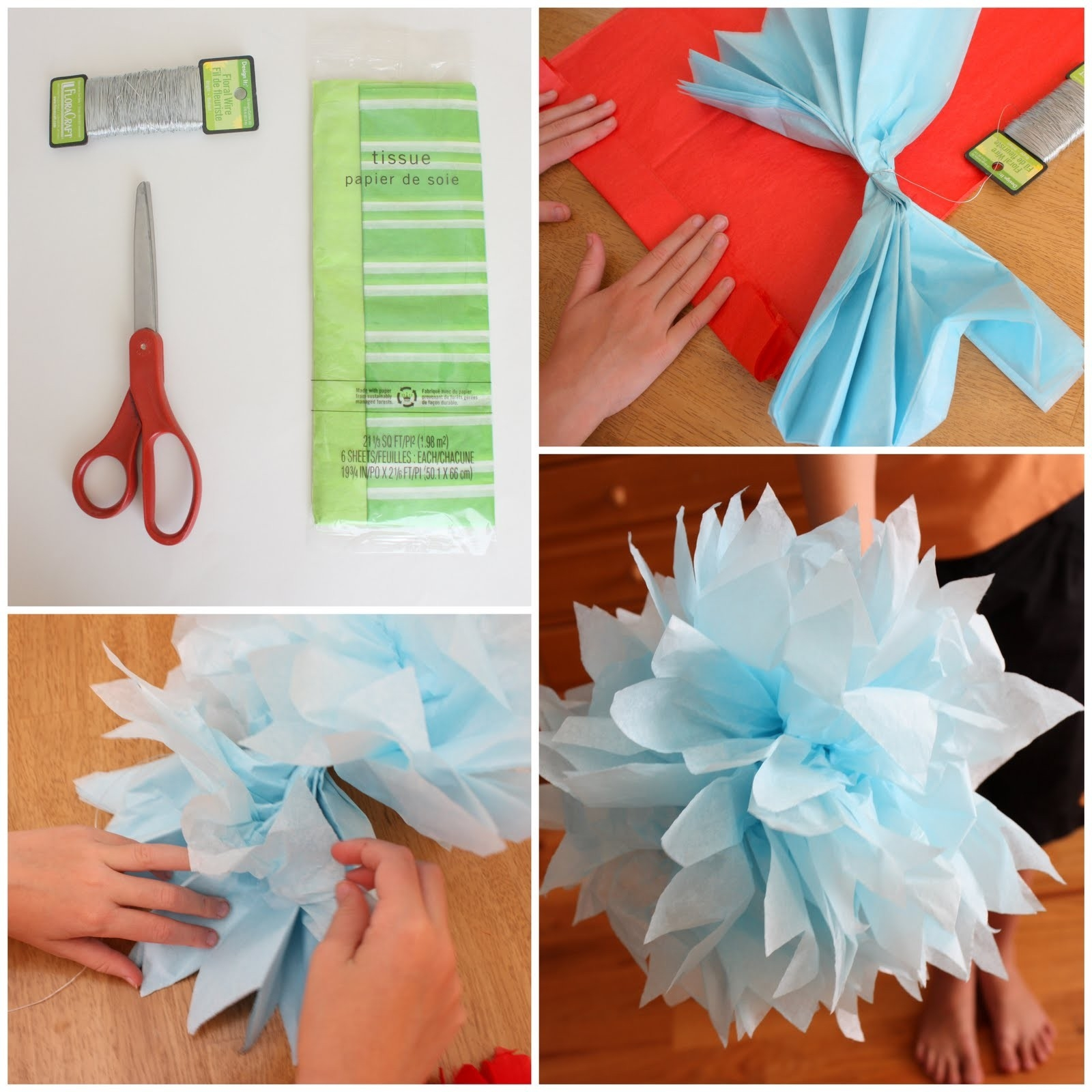 Summer Crafts With Kids Report - Diary Of A Quilter - A Quilt Blog regarding Easy Tissue Paper Crafts For Kids 27490