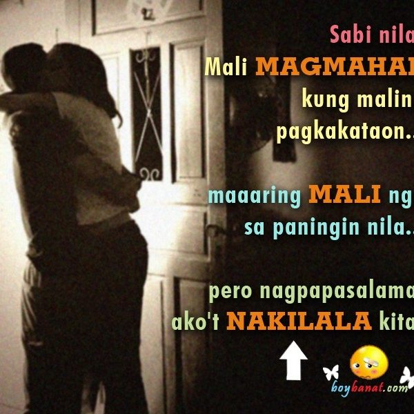 Tagalog text love quotes for him