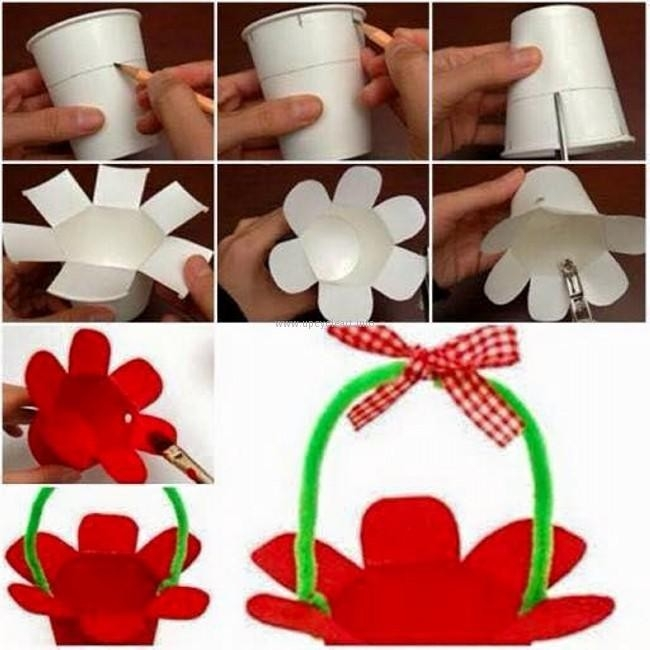 Thermocol Glass Craft For Kids | Diy | Pinterest | Glass Craft with regard to Art And Craft For Kids With Paper Cups Step By Step 29330