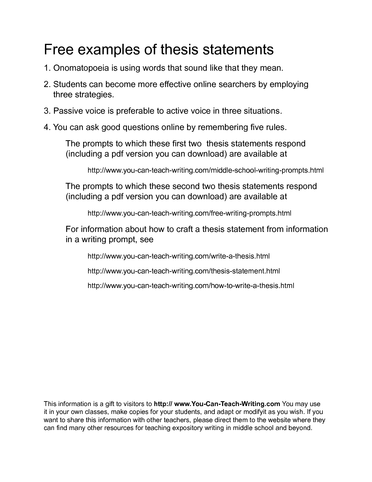 Essay On High School Thesis In Essay Thesis Essay Topics How To Write A Thesis Throughout Thesis  Statements Examples  Best Essays In English also English Essay Questions Thesis Statements Examples  Examples And Forms Wonder Of Science Essay