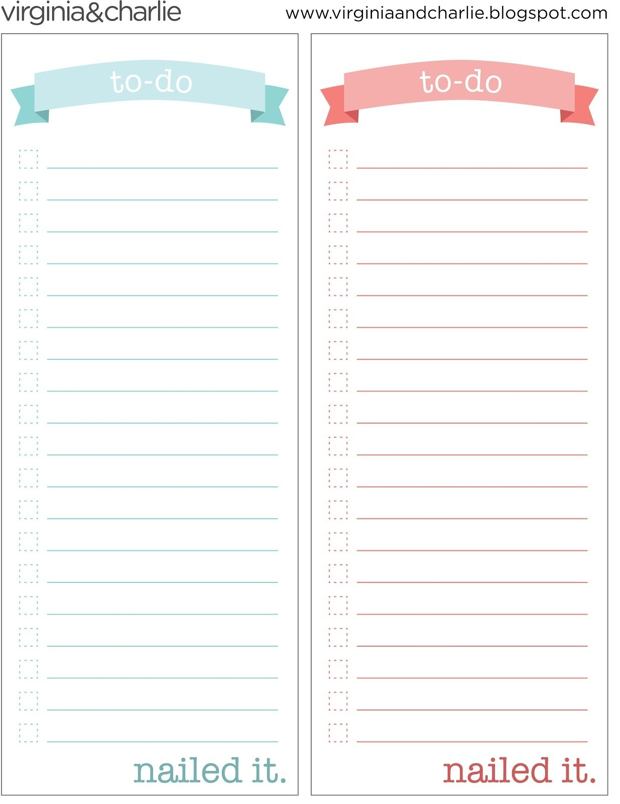 Things To Do Template Pdf | Virginia And Charlie: Printable To-Do intended for Free Printable To Do List Pdf 25463