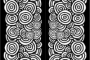 Bookmark Background Designs Black And White