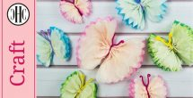 Tissue Paper Crafts Tutorial