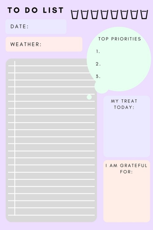 To Do List Printable | Tumblr within To Do List Printable Tumblr 25443