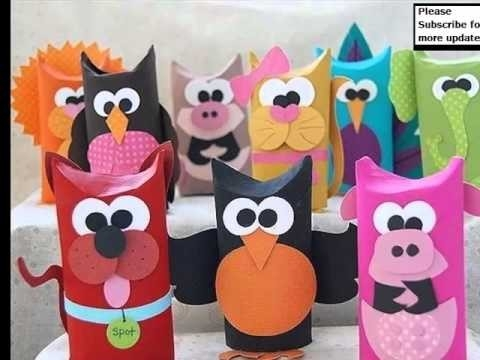Toilet Paper Roll Crafts Animals | Random Collection Of Beautiful with regard to Tissue Paper Roll Crafts Animals 29098