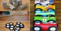 Tissue Paper Roll Crafts