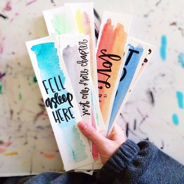 Totally Awesome Diy Bookmarks | Bookmarks, Totally Awesome And pertaining to Diy Bookmarks With Quotes 27990