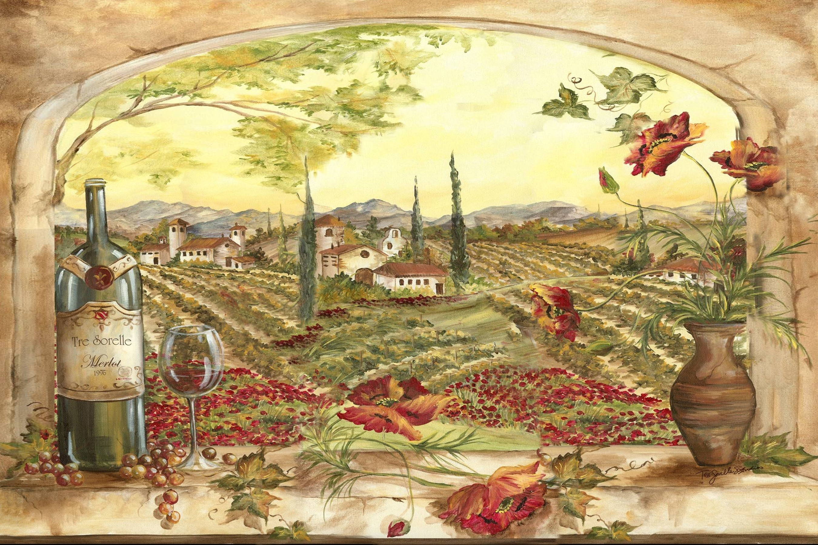 Tuscan Kitchen Wall Art | World Of Example with regard to Tuscan Kitchen Wall Art 27089