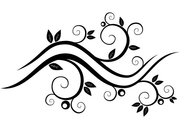 Vector Graphics Black – Google Search | Vector | Pinterest With intended for Black And White Flower Abstract Png 29918