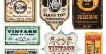 Vintage Label Free Download
