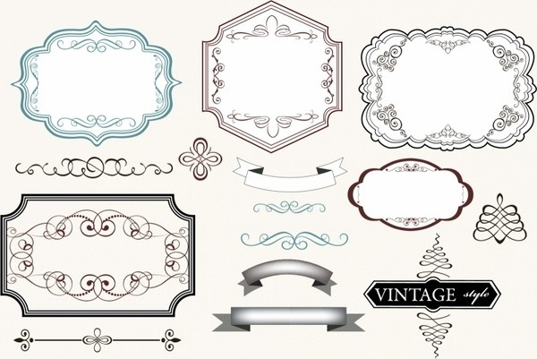 Vintage Label Template Free Vector Download (24,148 Free Vector inside Blank Vintage Label Template 27761