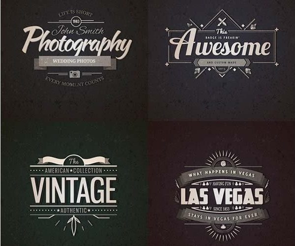 Vintage Label Template Psd | Template in Vintage Label Template Psd