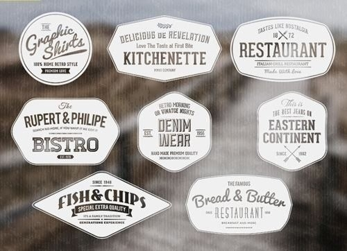 Vintage Label Template Psd | World Of Example for Vintage Label Template Psd 26925