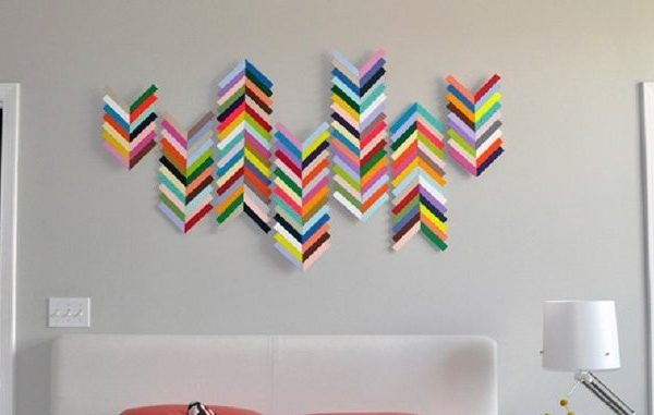 Wall Art Diy Projects Craft Ideas How To S For Home Decor With Intended Construction Paper