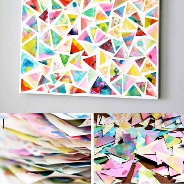 Wall Art   Easy Diy Crafts, Fun Projects And Diy Wall Art within Simple Arts And Crafts For Adults