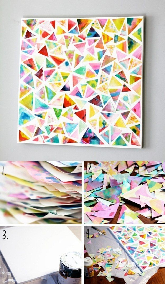 Wall Art | Easy Diy Crafts, Fun Projects And Diy Wall Art within Simple Arts And Crafts For Adults 27420