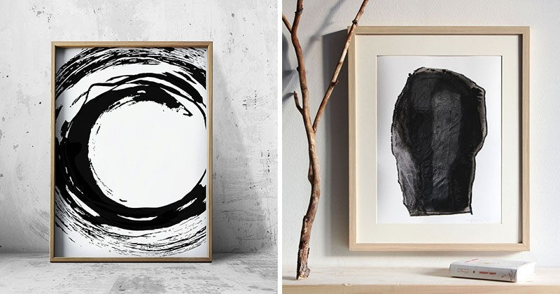 Wall Art Ideas - 14 Ideas For Black And White Abstract Wall Art pertaining to Black And White Wall Art Ideas 27310