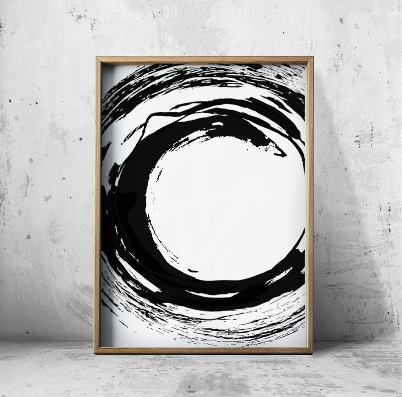 Wall Art Ideas - 14 Ideas For Black And White Abstract Wall Art regarding Black And White Abstract Wall Art 27300