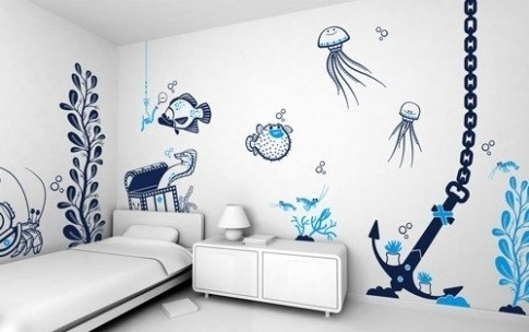 Wall Art Ideas For Kids Bedroom | World Of Example inside Wall Art Ideas For Kids Bedroom 30023