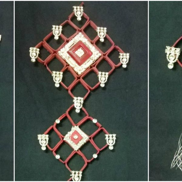 Wall Hanging From Waste Materials || Newspaper Wall Hanging ||Diy ...
