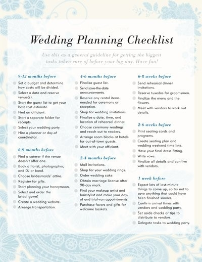 Wedding Planning Checklist | Free Printable Checklists | Popsugar throughout Printable Wedding Planning Checklist 26139