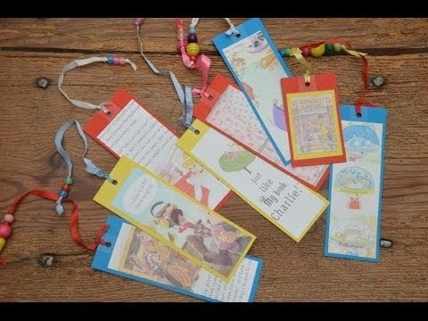 World Book Day Craft Hangout - Cat In The Hat & Homemade Bookmarks with Handmade Bookmarks For Books 29612