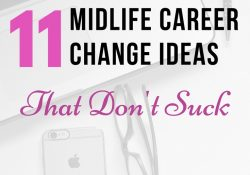 11 Midlife Career Change Ideas That Don't Suck | Lifewiselady Blog for Midlife Career Change Ideas