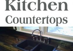 15 Amazing Diy Kitchen Countertop Ideas | Share Home Diy Ideas within Kitchen Countertop Ideas On A Budget
