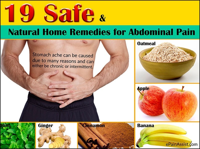19 Safe And Natural Home Remedies For Abdominal Pain Or Stomach Ache with regard to What Helps Stomach Cramps 46110