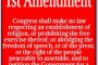 1St Amendment Definition