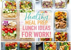 20 Easy Healthy Meal Prep Lunch Ideas For Work - The Girl On Bloor intended for Clean Eating Lunch Ideas