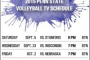 Penn State Volleyball Schedule