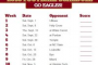Boston College Football Schedule