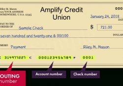 314977227 — Routing Number Of Amplify Credit Union In Austin pertaining to Amplify Credit Union Routing Number