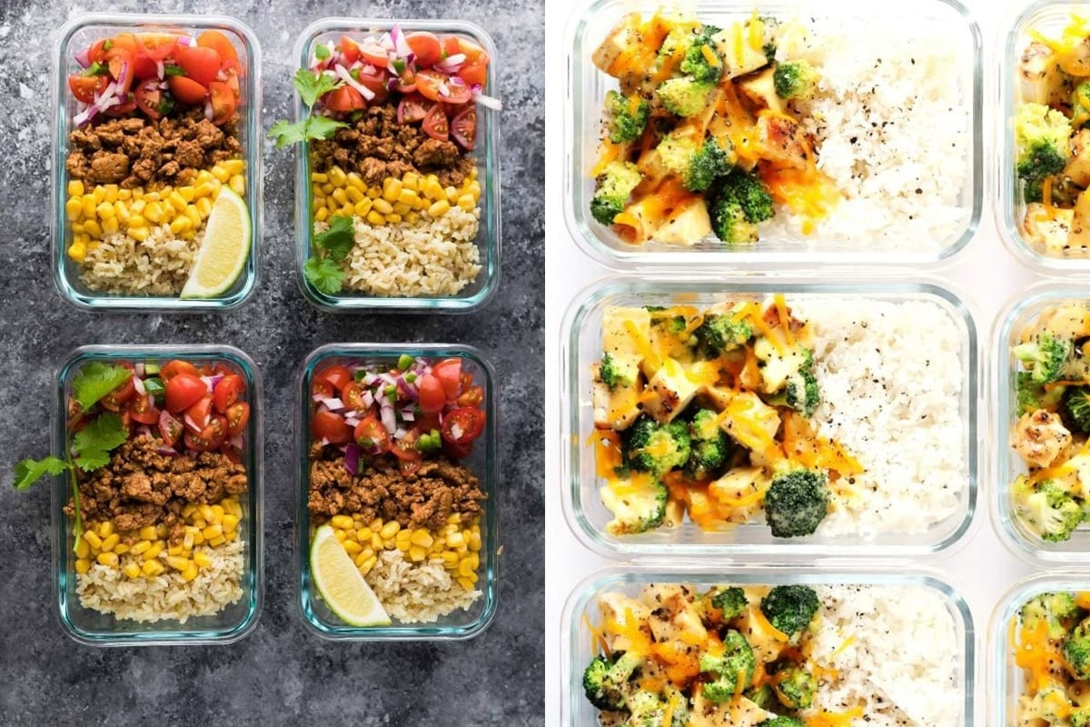 38 Easy Lunch Meal Prep Ideas (Updated) | Sweet Peas And Saffron throughout Meal Prepping Ideas 36459