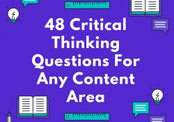 48 Critical Thinking Questions For Any Content Area - intended for Critical Thinking Questions Examples