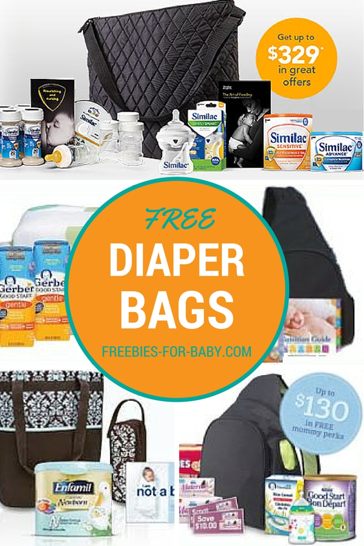 5 Free Diaper Bags Filled With Free Baby Samples | Babies for Free Diaper Samples By Mail 58812