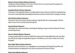 51+ Mission Statement Examples & Samples - Pdf, Word, Pages intended for Team Mission Statement Examples