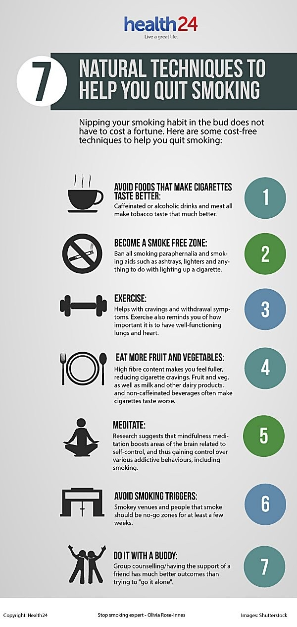 7 Natural Techniques To Help You Quit Smoking | Health24 in Free Help To Quit Smoking 47638