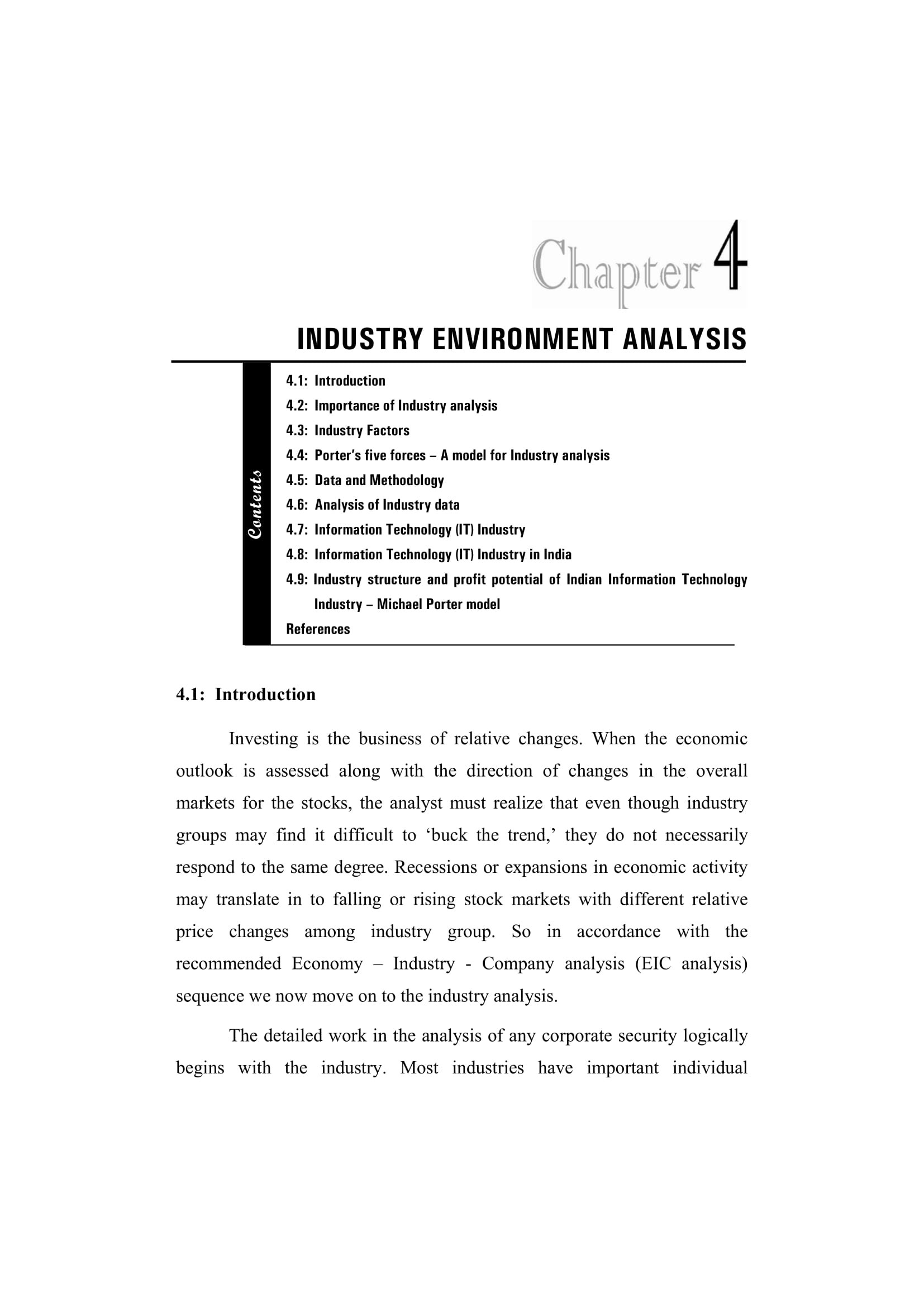 9+ Industry Analysis Examples - Pdf with Industry Analysis Example 59328